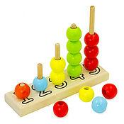 Куклы и игрушки handmade. Livemaster - original item Wooden abacus