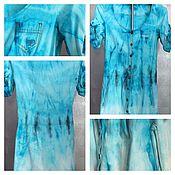 """Одежда handmade. Livemaster - original item Платье """"Нью-хиппи"""" хлопок. Handmade."""