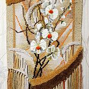 """Картины и панно ручной работы. Ярмарка Мастеров - ручная работа Гобелен ручной работы """"Орхидеи"""". Handmade."""