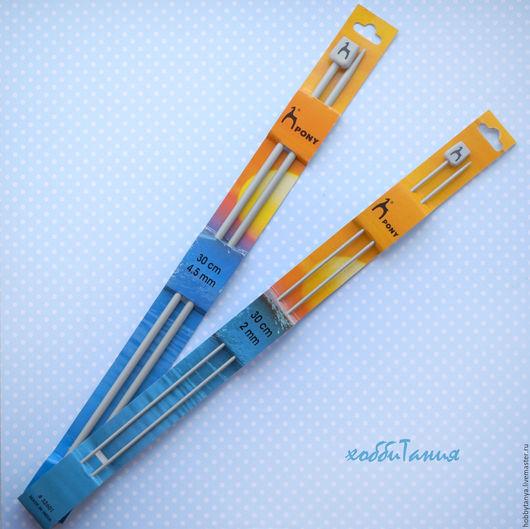 Вязание ручной работы. Ярмарка Мастеров - ручная работа. Купить Спицы прямые для вязания. Handmade. Серый, спицы для вязания, для вязания