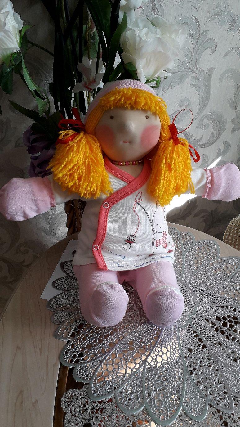 Вальдорфская кукла Ольга (43см), Вальдорфская игрушка, Киржач, Фото №1