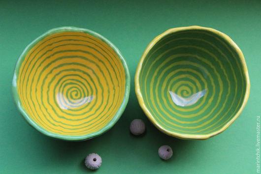Пиалы ручной работы. Ярмарка Мастеров - ручная работа. Купить Пиалы Пара. Handmade. Пиала, подарок, лимон