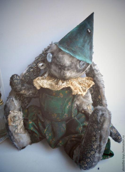 Мишки Тедди ручной работы. Ярмарка Мастеров - ручная работа. Купить Чердачный Май. Handmade. Тёмно-зелёный, старый зайчик