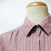 Винтаж ручной работы. Ярмарка Мастеров - ручная работа Рубашка Robe винтаж 70-е годы. Handmade.
