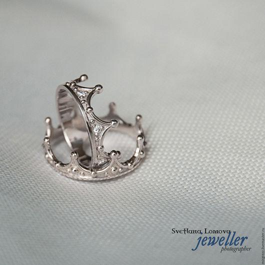 Кольца ручной работы. Ярмарка Мастеров - ручная работа. Купить Короны. Handmade. Серебряный, кольца ручной работы, кольца короны