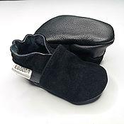 Одежда детская handmade. Livemaster - original item Ebooba, Baby Moccasins, Suede Baby Moccasins, Suede Booties. Handmade.