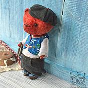 Куклы и игрушки ручной работы. Ярмарка Мастеров - ручная работа Мишка тедди Матвейка. Handmade.