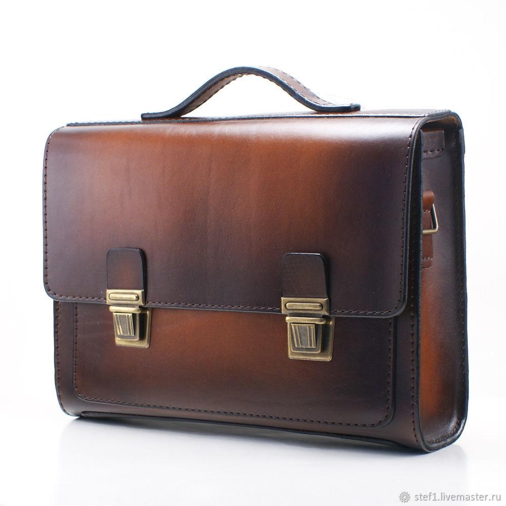 c6690b75c9fc Мужские сумки ручной работы. Ярмарка Мастеров - ручная работа. Купить Сумка  мужская кожаная сумка ...