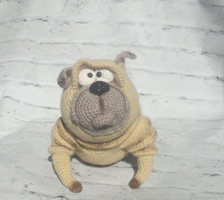 Мопс, Мягкие игрушки, Таганрог,  Фото №1
