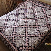 Для дома и интерьера ручной работы. Ярмарка Мастеров - ручная работа Одеяло-покрывало. Handmade.