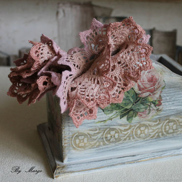 Accessories handmade. Livemaster - original item Cuffs with lace