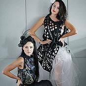 Одежда ручной работы. Ярмарка Мастеров - ручная работа Перфорированные жилеты. Handmade.