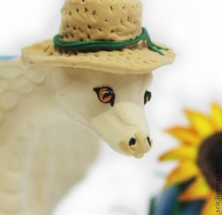 """Игрушки животные, ручной работы. Ярмарка Мастеров - ручная работа. Купить фигурка """"Змейка в стиле кантри"""" (змея символ 2013 года). Handmade."""