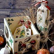 """Для дома и интерьера ручной работы. Ярмарка Мастеров - ручная работа Комплект для кухни """"Специи"""". Handmade."""