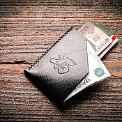 Сумки и аксессуары handmade. Livemaster - original item Cardholder, business card holder, mini wallet, wallet. Handmade.