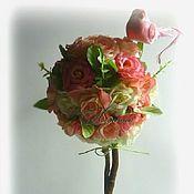Цветы и флористика ручной работы. Ярмарка Мастеров - ручная работа Топиарий. Handmade.
