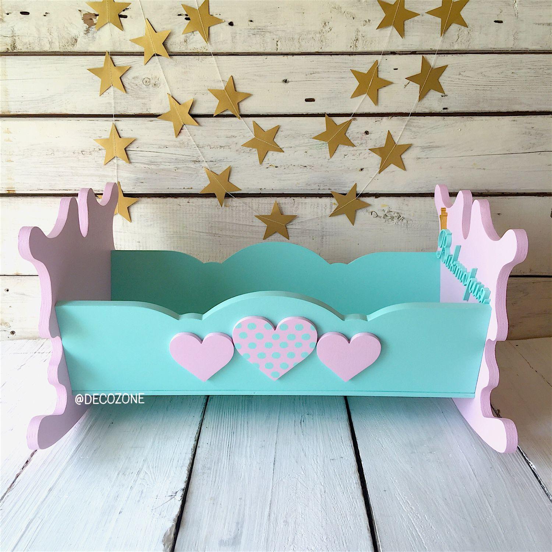 Кровать для кукол из фанеры своими руками фото