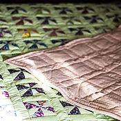 Для дома и интерьера ручной работы. Ярмарка Мастеров - ручная работа Покрывало Фисташковый рассвет. Handmade.