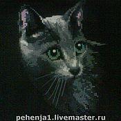 """Картины и панно ручной работы. Ярмарка Мастеров - ручная работа Картина""""Кошка"""". Handmade."""