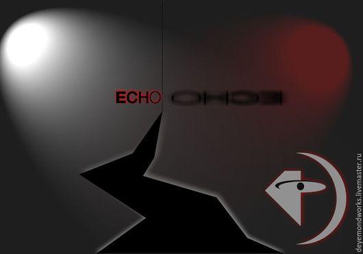 Баннеры для Магазинов мастеров ручной работы. Ярмарка Мастеров - ручная работа. Купить ECHO (Leprous - Coal concept art credit). Handmade.