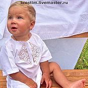 Работы для детей, handmade. Livemaster - original item Baptismal set 99