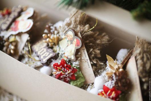 """Новый год 2017 ручной работы. Ярмарка Мастеров - ручная работа. Купить Елочные шары """"Victorian Christmas"""". Handmade. Комбинированный, эко"""