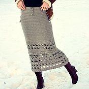 """Юбки ручной работы. Ярмарка Мастеров - ручная работа """"Пепельные"""" юбки. Handmade."""