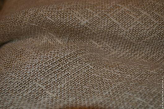 Шитье ручной работы. Ярмарка Мастеров - ручная работа. Купить Ткань лен натуральный портьерный. Германия. Handmade. Серый