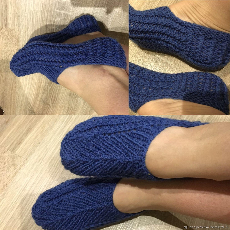 вязаные следки носочки спицами фиолетовые картинки дедушки