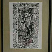 """Картины и панно ручной работы. Ярмарка Мастеров - ручная работа Картина """"Пегас"""". Handmade."""