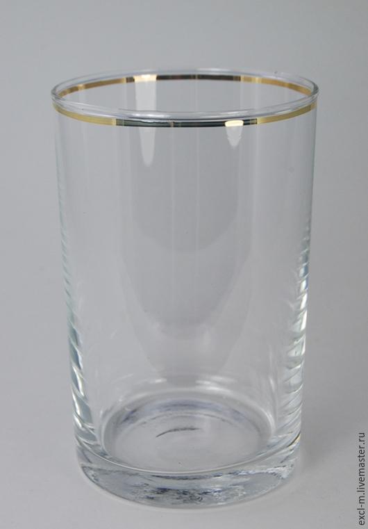 Бокалы, стаканы ручной работы. Ярмарка Мастеров - ручная работа. Купить Стакан для подстаканника 1 категория. Handmade. Стакан, стекло