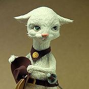 Куклы и игрушки ручной работы. Ярмарка Мастеров - ручная работа кот в сапогах 2. Handmade.