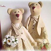 Куклы и игрушки ручной работы. Ярмарка Мастеров - ручная работа Мишки Счастливые. Handmade.