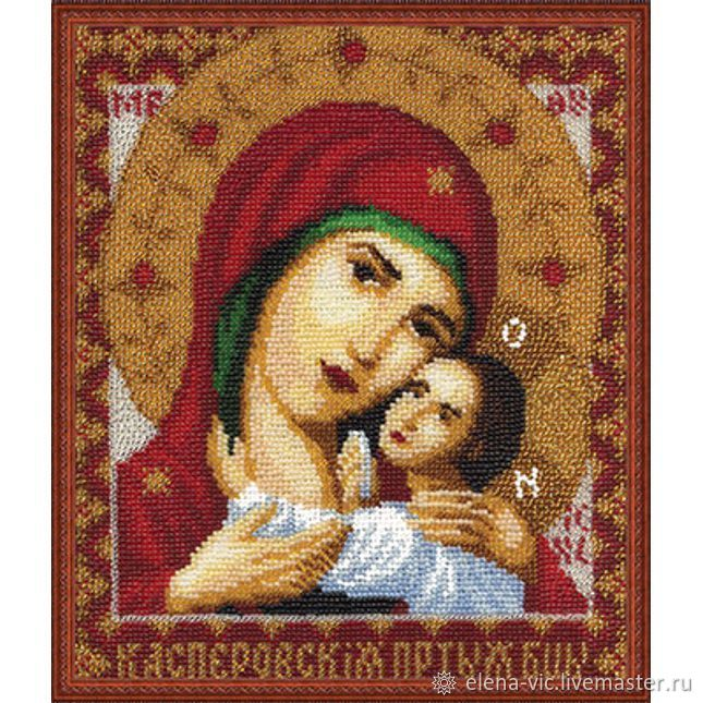 """Набор Panna """"Икона Пресвятой Богородицы Касперовская"""", Схемы для вышивки, Смоленск,  Фото №1"""