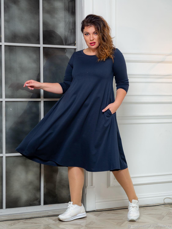 Платье А силуэт большого размера, Платья, Лобня,  Фото №1