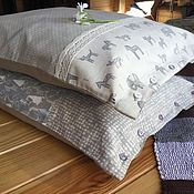 Для дома и интерьера handmade. Livemaster - original item Large hay pillows-fragrant