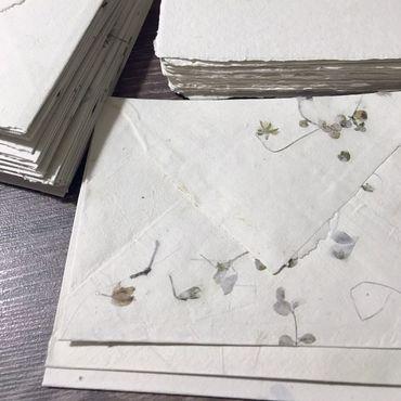 """Канцелярские товары ручной работы. Ярмарка Мастеров - ручная работа """"Для нежности"""" Набор конвер и бумага ручной работы. Handmade."""