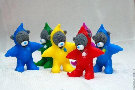 """Мыло ручной работы. Ярмарка Мастеров - ручная работа. Купить мыло """"Тедди в костюме звезды"""". Handmade. Комбинированный, мыло сувенирное"""