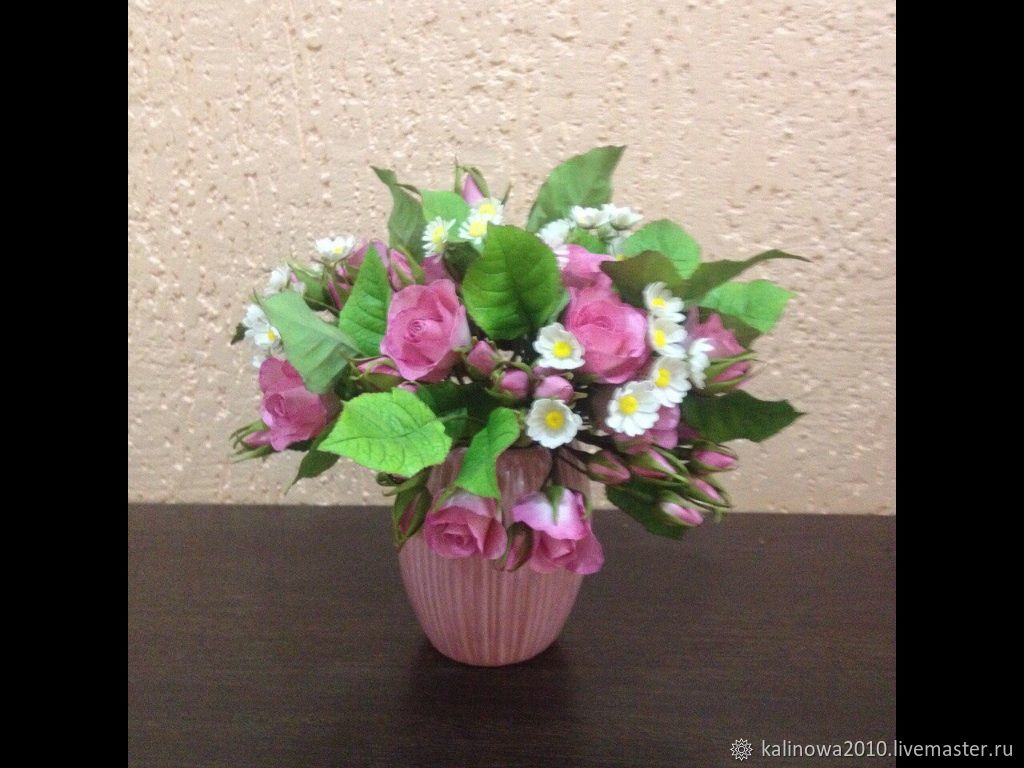Florist Arrangements handmade. Livemaster - handmade. Buy Rose chamomile mood.Flowers, combo, flowers from tamarana