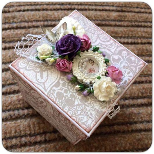 Свадебные открытки ручной работы. Ярмарка Мастеров - ручная работа. Купить Свадебная коробочка для денег. Handmade. Коробочка для денег