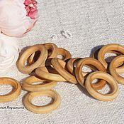 Материалы для творчества handmade. Livemaster - original item ring wooden. Handmade.