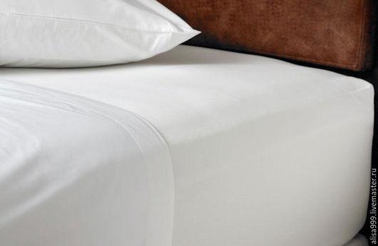Текстиль, ковры ручной работы. Ярмарка Мастеров - ручная работа. Купить Белое постельное белье. Бязь. Handmade. Белый