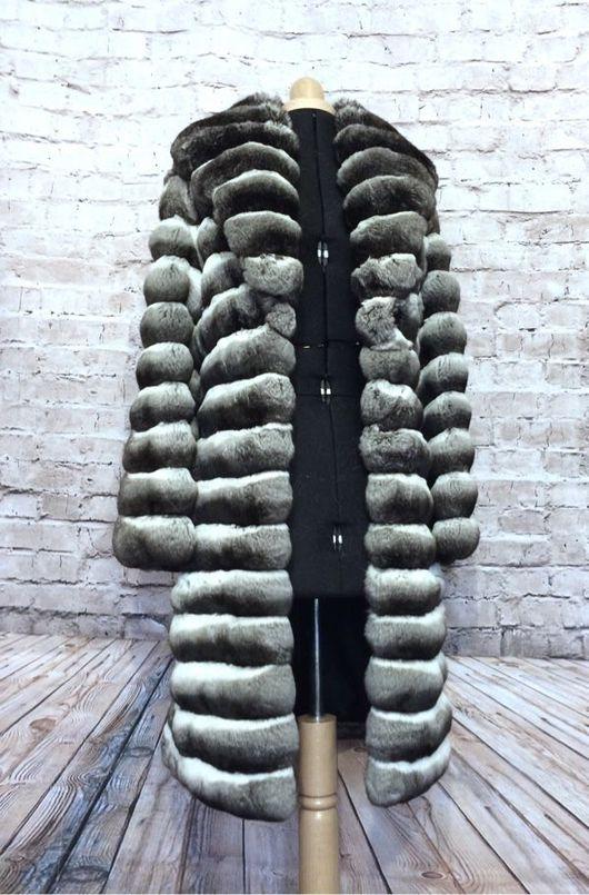 Верхняя одежда ручной работы. Ярмарка Мастеров - ручная работа. Купить Шуба из шиншиллы. Handmade. Fur coat, шуба из шиншиллы