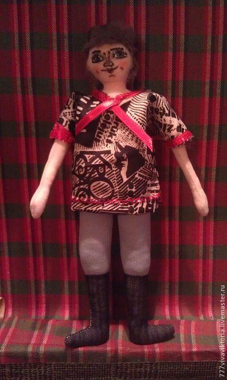 Кукольный дом ручной работы. Ярмарка Мастеров - ручная работа. Купить кукла казачок ,текстильная кукла для игры или для интерьера. Handmade.