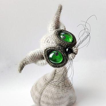 Dolls & toys handmade. Livemaster - original item Cat Simon. Handmade.