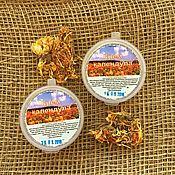 Косметика ручной работы handmade. Livemaster - original item Calendula cream for face and body skin care. Handmade.