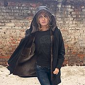 Одежда ручной работы. Ярмарка Мастеров - ручная работа Куртка на бобре. Handmade.