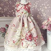 Куклы и игрушки ручной работы. Ярмарка Мастеров - ручная работа Платье  для куклы БЖД (  MCD) №29. Handmade.