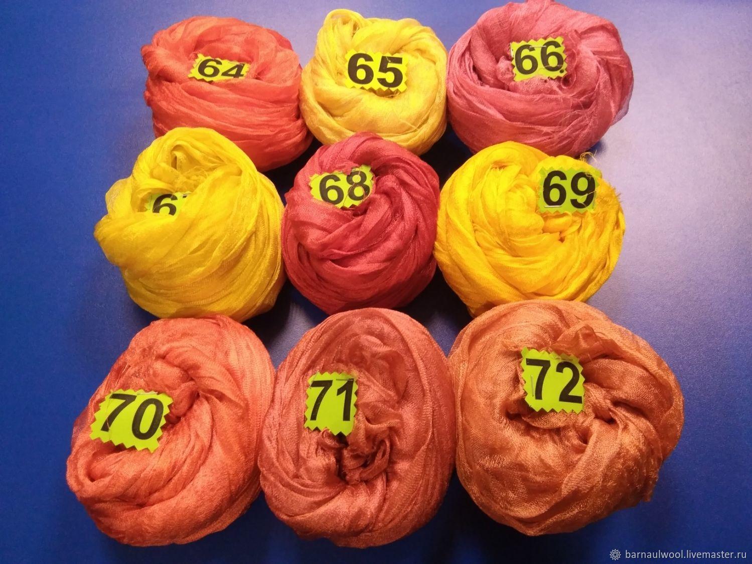 Валяние ручной работы. Ярмарка Мастеров - ручная работа. Купить Шелка разреженные шир. 85-90 см окрашенные. Handmade.