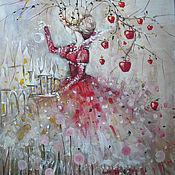 """Картины и панно ручной работы. Ярмарка Мастеров - ручная работа Картина """"Ее Величество"""". Handmade."""